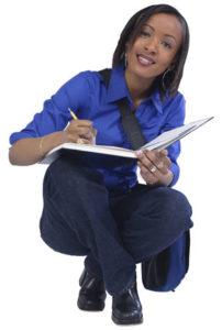 ladywriting